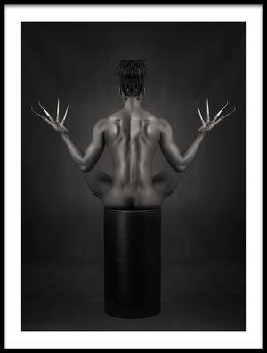 Buy this art print titled Body Symmetry by the artist Ross Oscar
