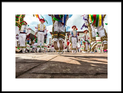 Buy this art print titled Bolantes of Valcarlos I by the artist Jose Javier Duro Jimenez