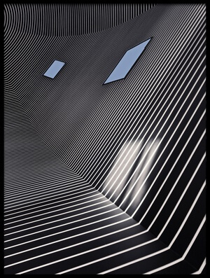 Buy this art print titled Bonnefanten Lines by the artist Henk van Maastricht