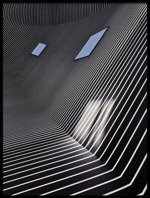 Art print titled Bonnefanten Lines by the artist Henk van Maastricht
