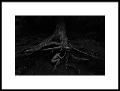 Art print titled Born from the Earth by the artist Patrick Odorizzi