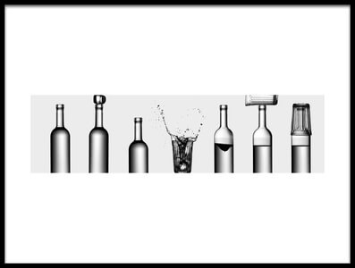 Buy this art print titled Bottles Game by the artist Valeriy Kasmasov