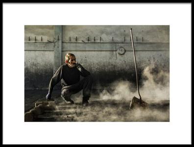 Art print titled Break by the artist Yasemin Bakan