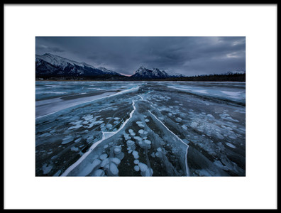 Art print titled Breaking Ices by the artist Donald Luo