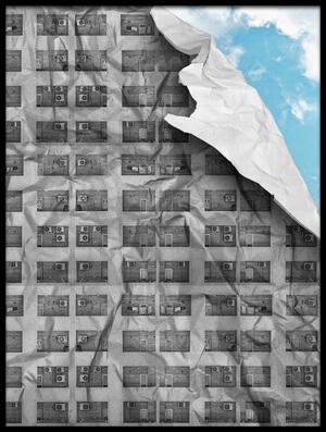 Art print titled Breath by the artist milad eslamzadeh