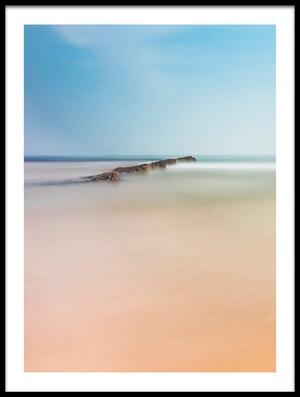 Art print titled Brecha En El Mar by the artist tomas ferrero