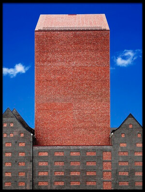 Buy this art print titled Brick by the artist Eric Mattheyses