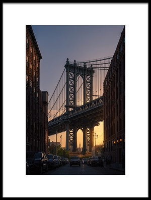 Buy this art print titled Bridge by the artist David Martín Castán