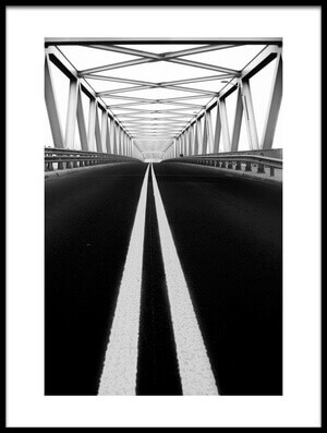 Buy this art print titled Bridge by the artist Anna Niemiec