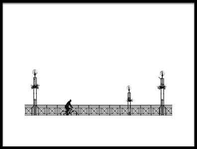 Buy this art print titled Bridge by the artist Samir Pajić
