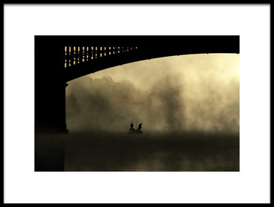 Art print titled Bridge Over Trouble Water 3 by the artist Barré Thierry