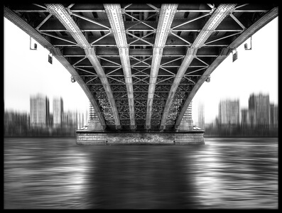Art print titled Bridge to Another World by the artist EM-Photographies
