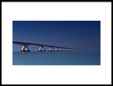Buy this art print titled Bridge to the Horizon by the artist Stefan Schilbe