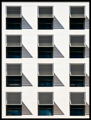 Buy this art print titled Brise Soleil by the artist Linda Wride