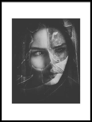 Buy this art print titled Broken by the artist Mirjana Kovačević
