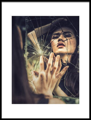 Buy this art print titled Broken Inside Me by the artist Agus Prasetya