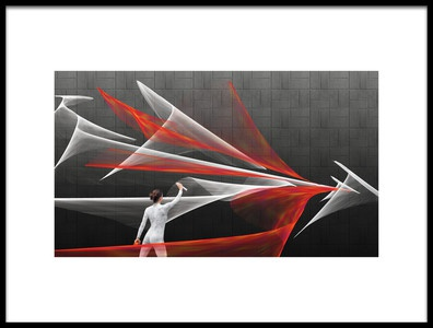 Art print titled Brushes by the artist Esther Margraff