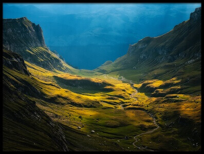 Art print titled Bucegi Mountains by the artist Cristian Lee