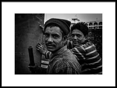 Art print titled Building a VesselVI Dhaka, Bangladesh by the artist Joxe Inazio Kuesta Garmendia