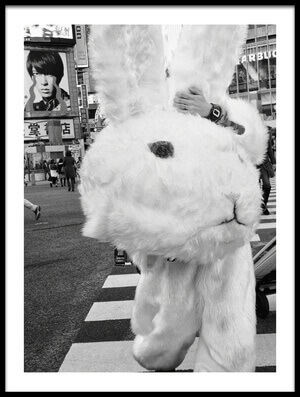 Buy this art print titled Bunny Crossing by the artist Tatsuo Suzuki
