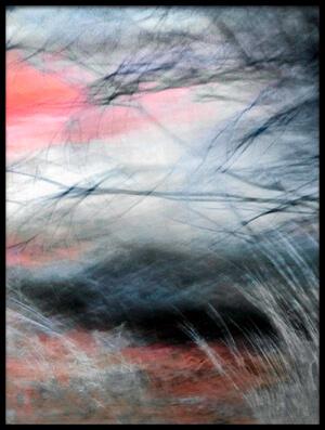 Art print titled Burnt Scrub by the artist atelier8