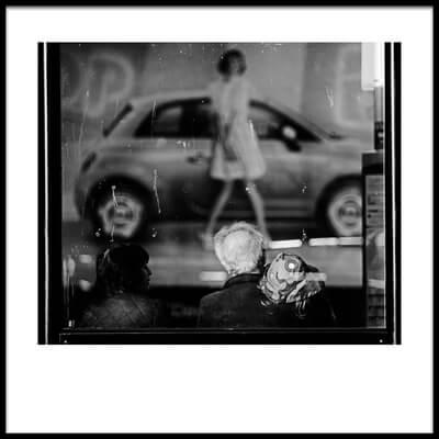 Art print titled Bus Stop by the artist Julien Oncete