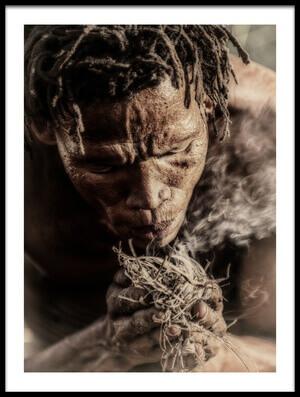 Buy this art print titled Bushman's Skills by the artist Pavol Stranak