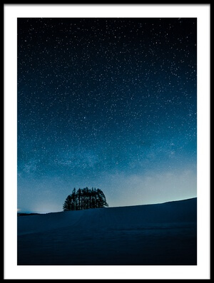 Art print titled Cabbage Field by the artist Teruo Araya