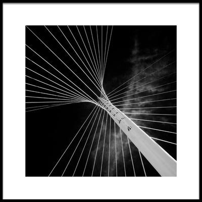 Art print titled Calatrava Butterfly by the artist theo huybrechts