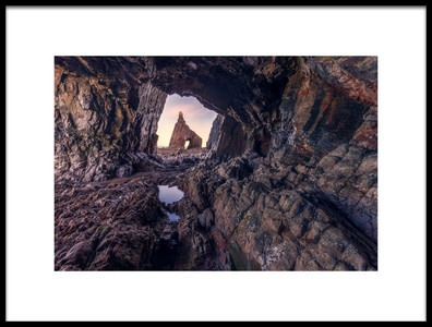 Art print titled Campiechos Cave by the artist Iván Ferrero