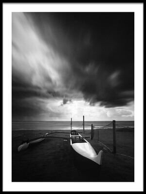 Buy this art print titled Canoe at the Beach by the artist Massimo Della Latta