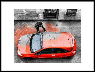 Buy this art print titled Car Wash by the artist Phil Tooze