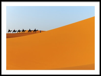 Buy this art print titled Caravan by the artist Massimo Mei