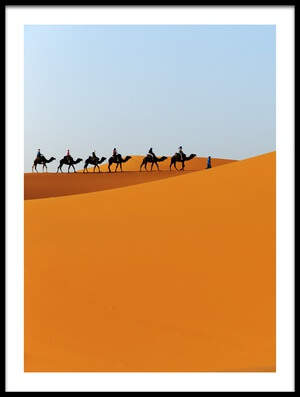 Buy this art print titled Caravan II by the artist Massimo Mei