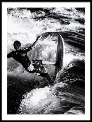 Buy this art print titled Catch the Wave by the artist Massimo Della Latta