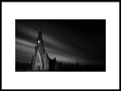 Art print titled Cathedral of Stone by the artist Jackson Carvalho
