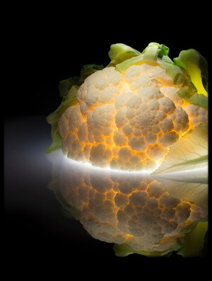 Buy this art print titled Cauliflower by the artist Wieteke de Kogel
