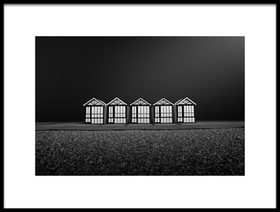 Art print titled Cayeux Sur Mer FRANCE by the artist Arnaud MAUPETIT