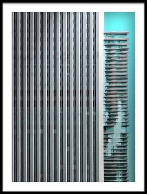 Buy this art print titled Chicago Abstract II by the artist Rolf Mauer