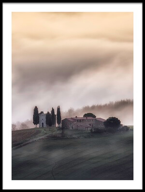 Art print titled Church In the Sky !! by the artist Luca Vescera