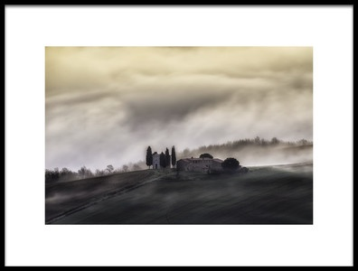 Art print titled Church In the Sky by the artist Luca Vescera