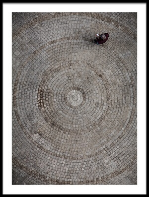 Buy this art print titled Circles by the artist Tomer Eliash