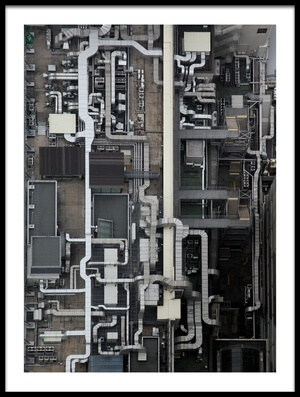Art print titled Circuit by the artist Koji Tajima