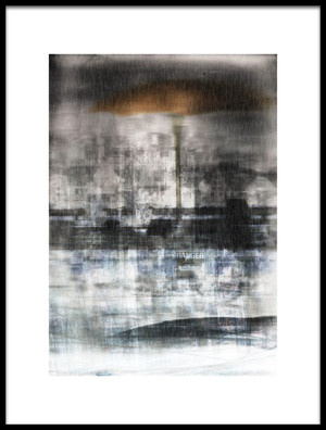 Buy this art print titled City by the artist Nictsi Khamira