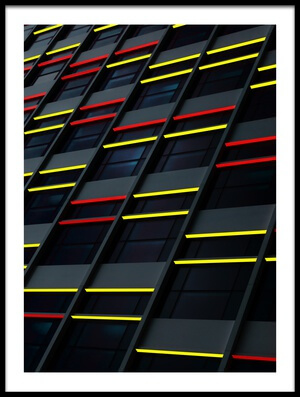 Buy this art print titled City Colors by the artist Marc Huybrighs