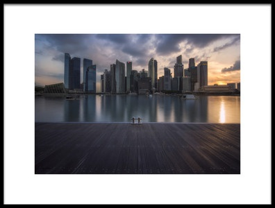 Buy this art print titled City Dock by the artist Richard Vandewalle