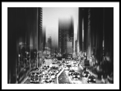 Buy this art print titled City, Evening by the artist Teruhiko Tsuchida