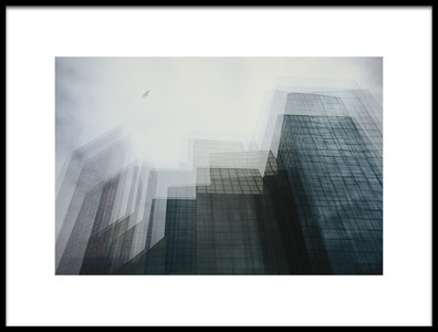 Art print titled City of Glass by the artist Ursula Rodgers