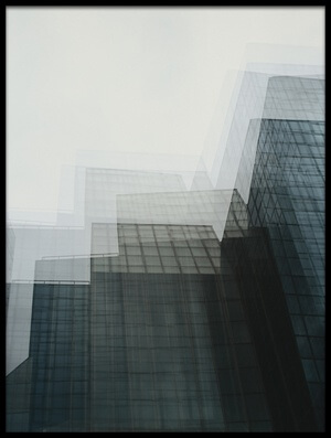 Buy this art print titled City of Glass by the artist Ursula Rodgers