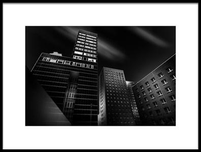 Art print titled Cityscape 2 by the artist Matthias Hefner